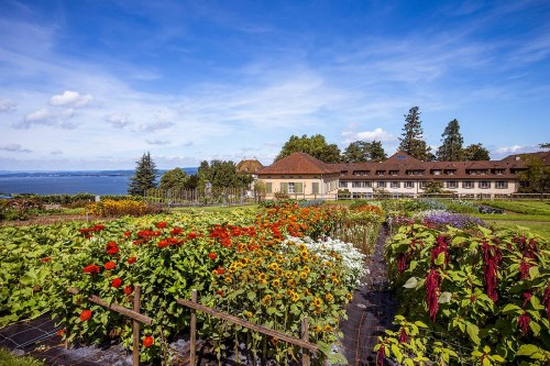 The Arenenberg can look back on over 600 years of gardening tradition.