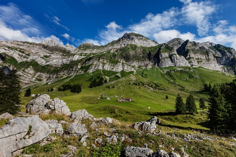 An excursion to Schwägalp and Säntis will remain unforgettable.