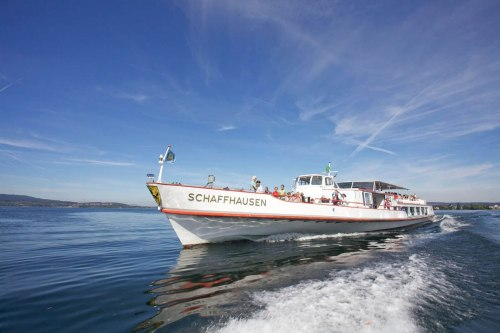 The MS Schaffhausen on Lake Constance