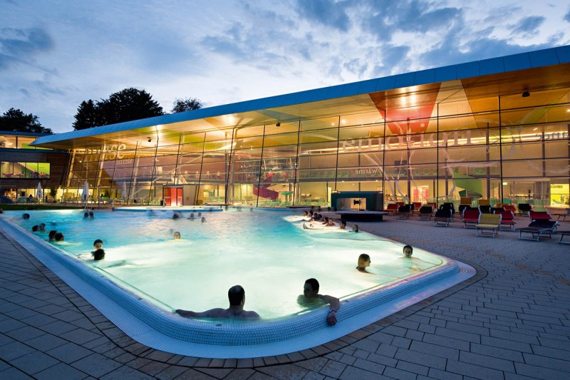Die Bodensee Therme Konstanz Kombination Aus Entspannung Und