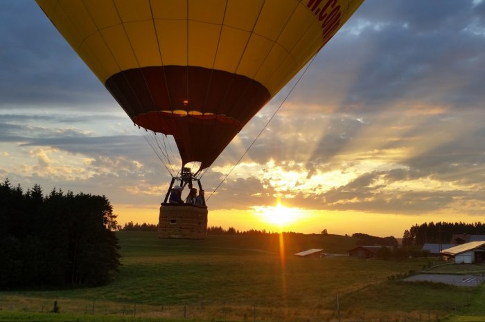 Air & Fun: Hot-air balloon flight over Lake Constance