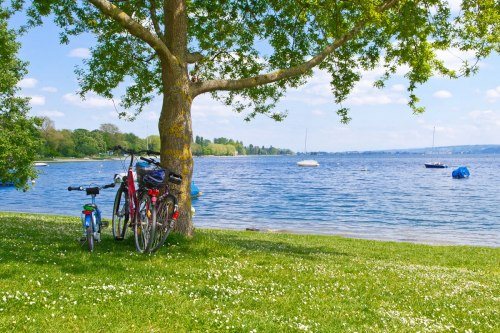 Cycling on Lake Constance