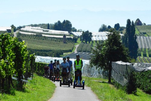 Exploring Lake Constance with the Segway