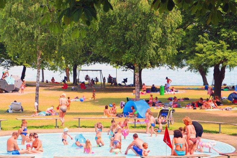 Strandbad Horn Das Grosste Strandbad Am Bodensee