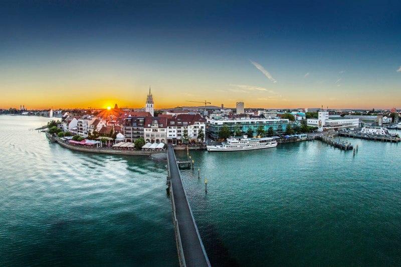 bodensee karte friedrichshafen Friedrichshafen   die Zeppelinstadt am Bodensee