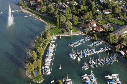 Port and sea garden of Kreuzlingen