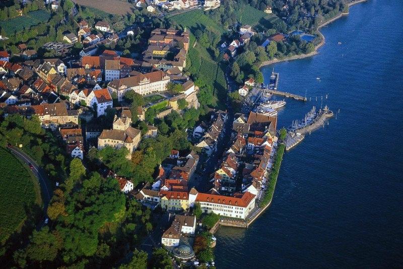 Meersburg Die Kleinstadt Am Bodensee