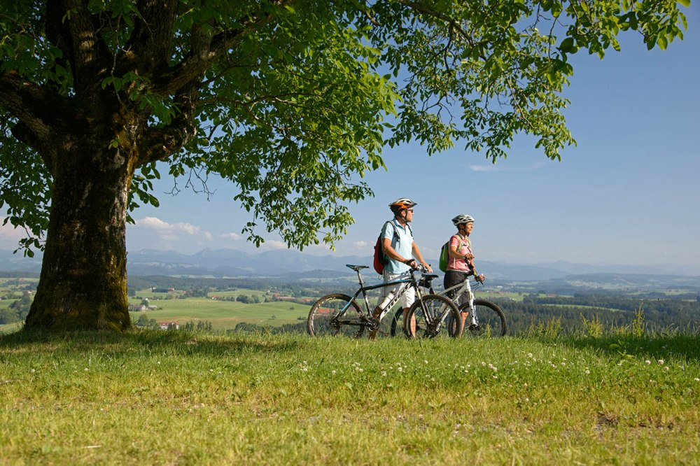 The perfect region for cycling tours and active holidays