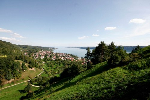 Sipplingen is located directly on Lake Constance